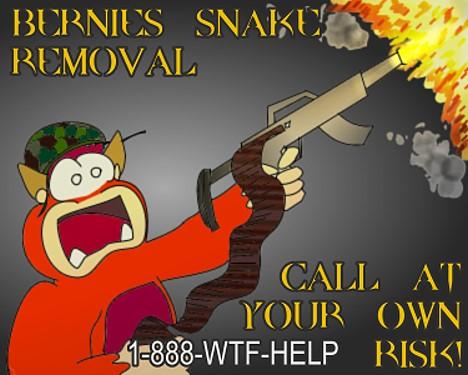 Bernie's Snake Removal